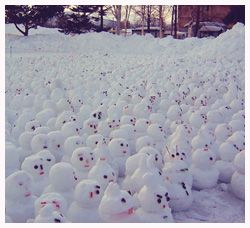 When Life Gives You Snow, Make Snowmen