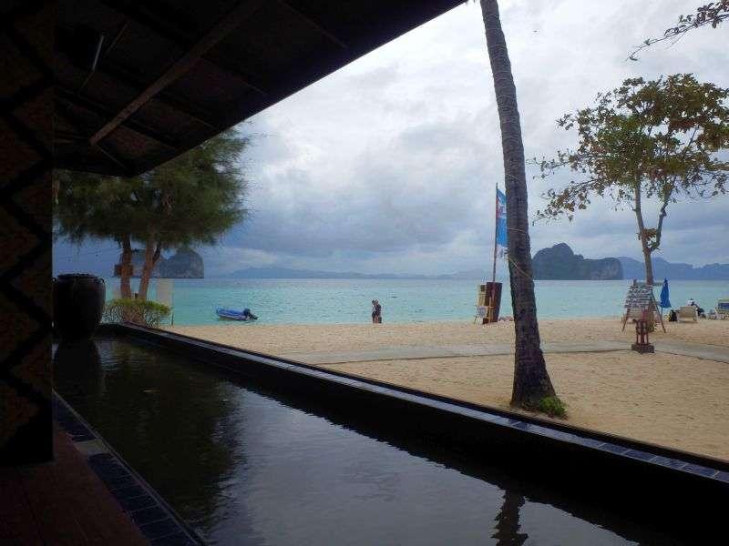 Ausblick aus dem Resortrestaurant