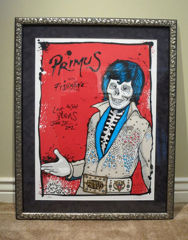 EB Forum • View topic - Framed (GIG POSTERS!) only