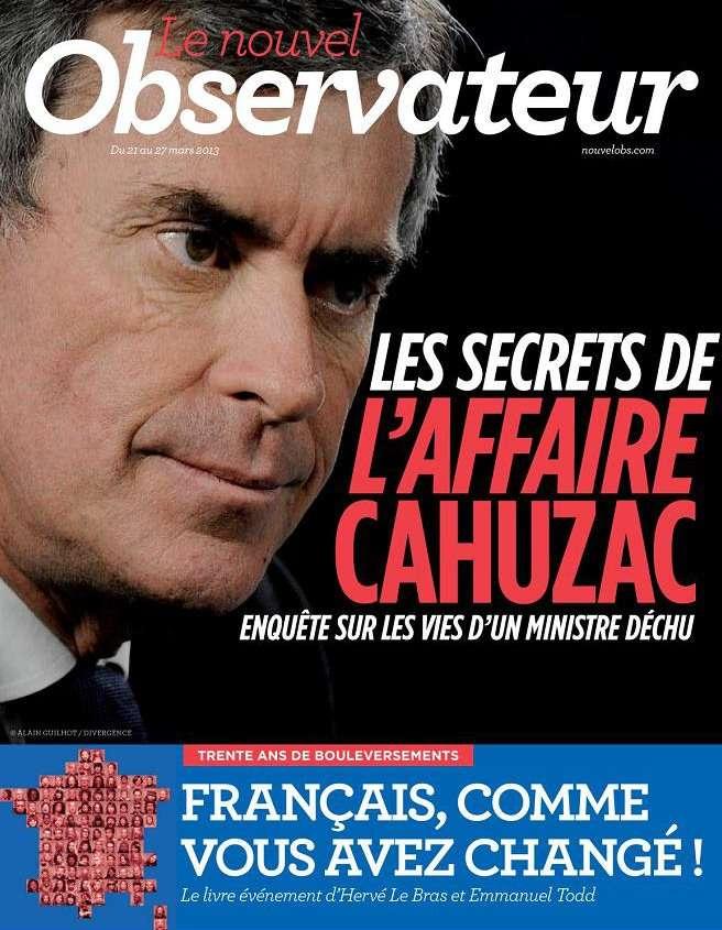 Le Nouvel Observateur N°2524 du 21 au 27 Mars 2013
