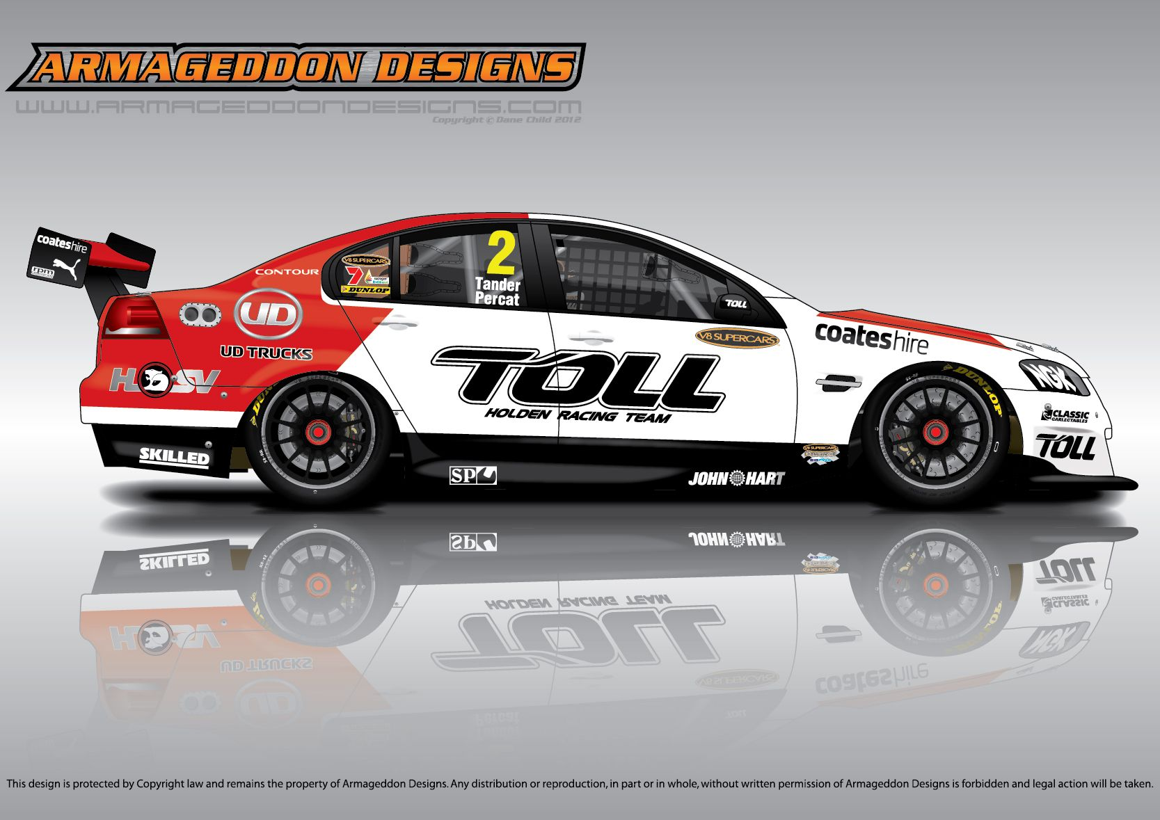 100 Holden Racing Team Logo 2017 Mobil 1 Hsv Racing