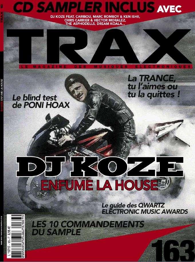 Trax N°163 Mars 2013