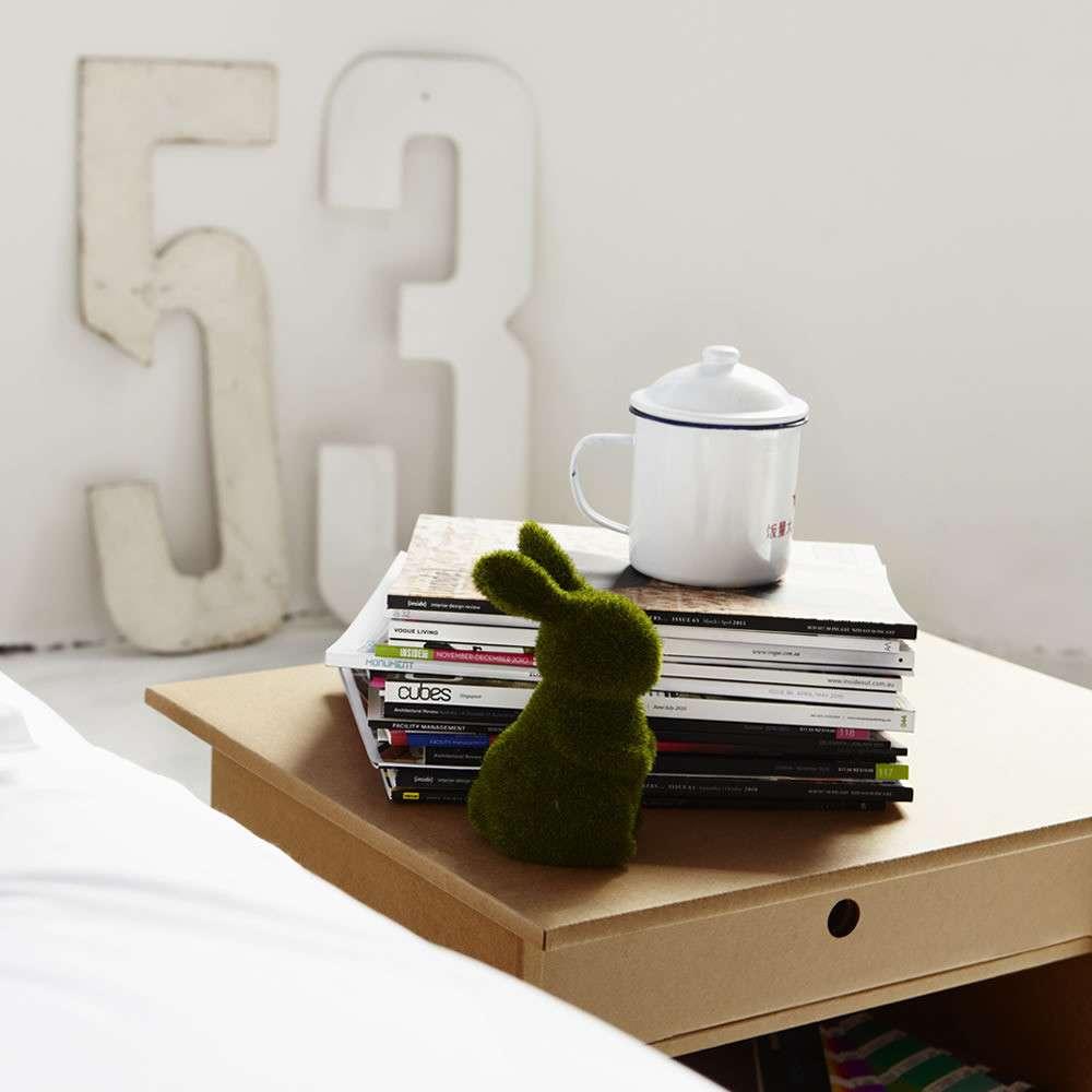 mesitadecarton - Decoración Eco Chic: Muebles hechos de cartón