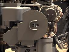 <br /> This image from the Mars Hand Lens<br /> The left Mast Camera (Mastcam) on<br /> NASA&#39;s Mars rover Curiosity took<br /> this image of Curiosity&#39;s sample-<br /> processing and delivery tool just<br /> after the tool delivered a portion<br /> of powdered rock into the rover&#39;s<br /> Sample Analysis at Mars (SAM)<br /> instrument.<br /> Image credit: NASA/JPL-Caltech/MSSS&nbsp;&nbsp; <br /> <a href='http://www.nasa.gov/mission_pages/msl/multimedia/pia16766.html' class='bbc_url' title='External link' rel='nofollow external'>� Full image and caption</a>