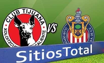 Xolos Tijuana vs Chivas En Vivo