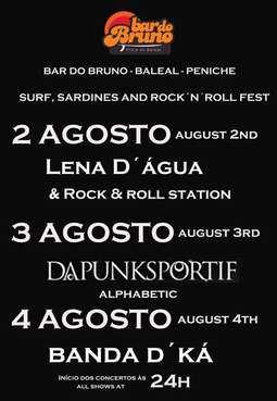 LENA D'ÁGUA Rock 'N' Roll Station