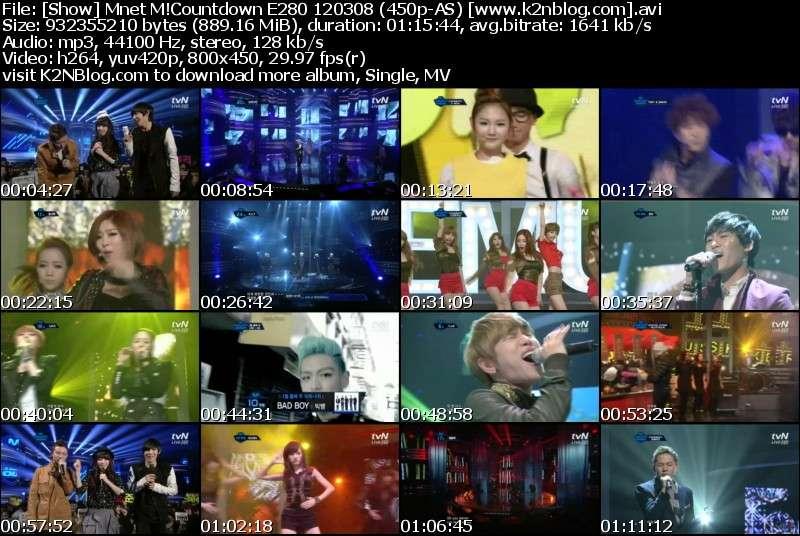 [Show] Mnet M!Countdown E280 120308